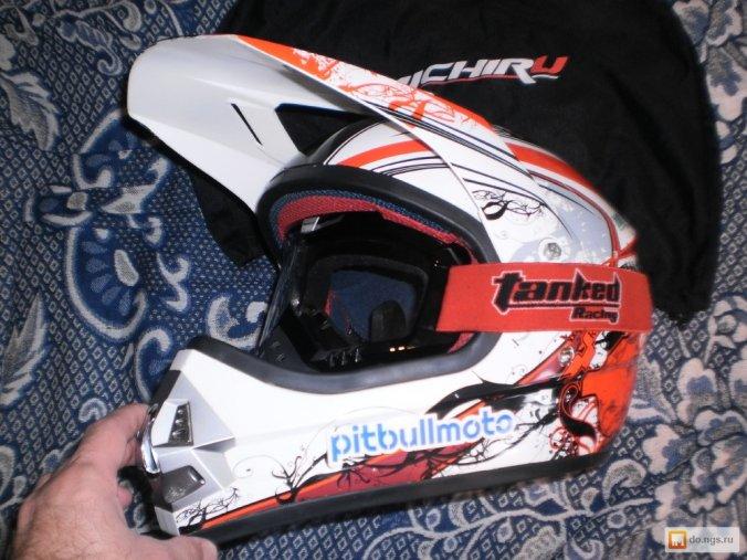 Продам мотокроссовый шлем
